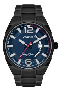 Relógio Masculino Orient Pulseira Em Aço 50m Mpss1007-d2gx