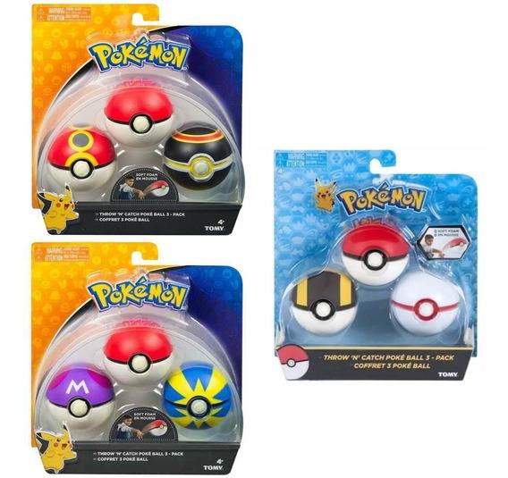 Pokémon Pack Com 9 Pokebolas