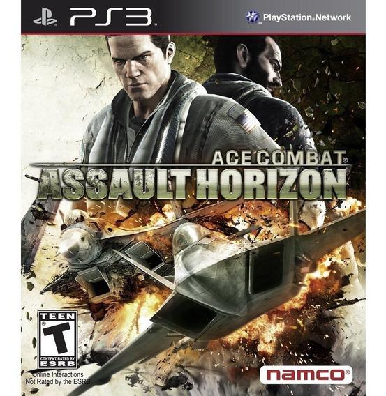 Ace Combat Assault Horizon Ps3 - Leia Descrição
