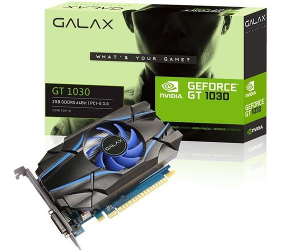 Placa De Vídeo Galax Geforce Gt 1030 2gb Cuda Cores Ddr5