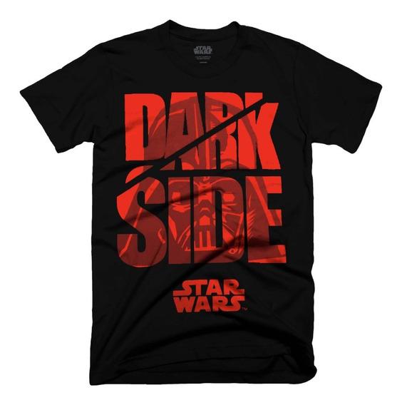 Playera Oficial Star Wars Dark Side Para Hombre