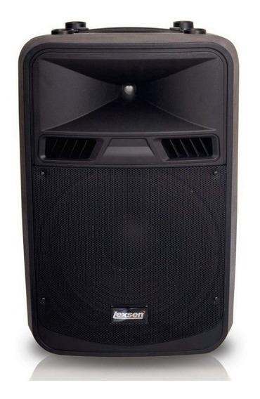 Caixa Acústica Lexsen Lxx15a 500w Rms Fm/usb/ Bluetooth