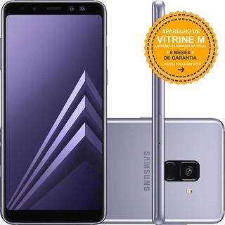 Samsung Galaxy A8 2018 A530f 64/4gb Ametista Mancha Tela