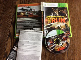 Need For Speed The Run -juego -xbox 360