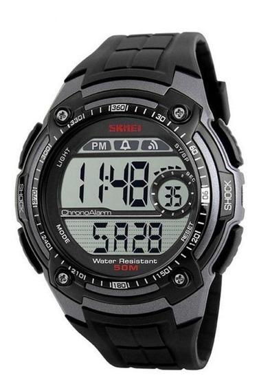 Relógio Masculino Skmei Digital 1203 - Preto/cinza