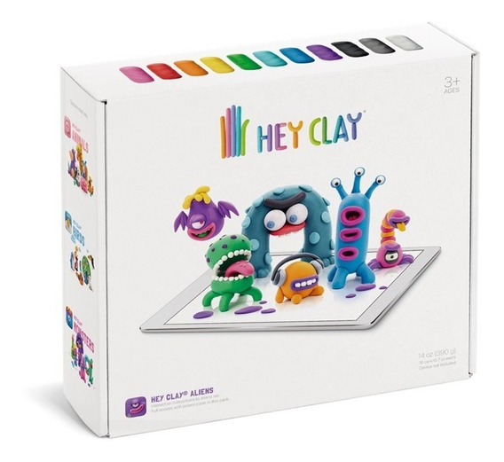 Hey Clay Aliens - Massinha De Modelar - Galápagos (pt-br)