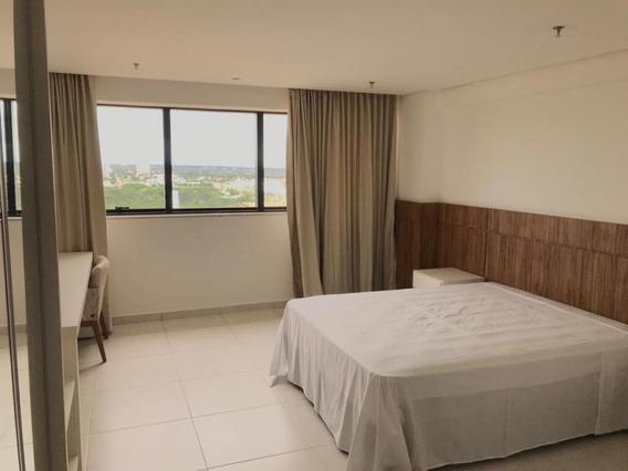 Flat Para Venda Em Palmas, Plano Diretor Sul, 1 Dormitório, 1 Suíte, 1 Banheiro, 1 Vaga - 8153