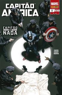 Hq Capitão América Nº 5 Ed Agosto/2019 - Capitão De Nada