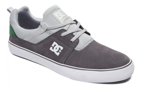 Dc Zapatilla Heathrow Vulc Moda Adys300443 Gris Verde Dep