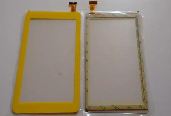 Tela Vidro Touch Tablet Dl Creative Tx380 Tx381blj Amarelo