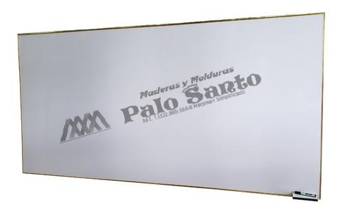Tablero Acrílico Liso 2.40cm X 1.20cm Perfil En Aluminio