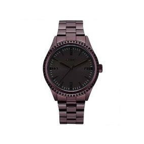 Relógio Euro Feminino Casual Pedras Roxo Eu2035yns/4p
