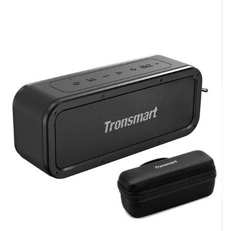 Caixa De Som Tronsmart Element Force40w Bluetooth Ipx7+case