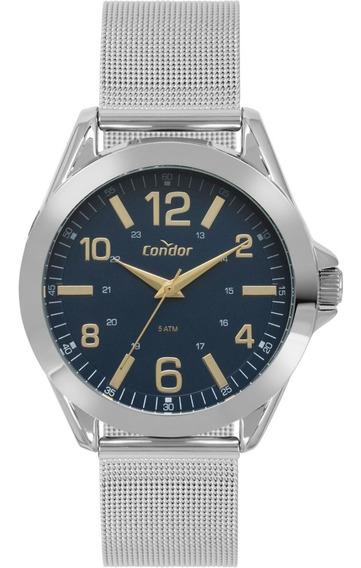 Condor Co2035kyl/3a Relogio Unissex Clássico 5atm Aço Número