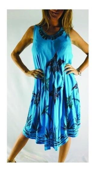 Vestido Hindú Solero Algodón India Local Envios T/pais