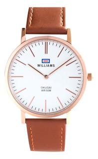 Reloj Hombre Williams Analogíco Sumergible Wih0065-anl-7a