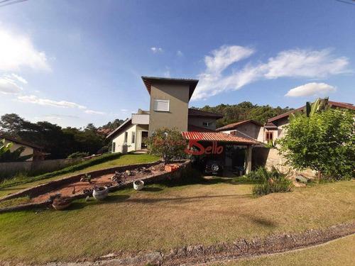 Casa Com 3 Dormitórios À Venda, 274 M² Por R$ 950.000 - Parque Da Fazenda - Itatiba/sp - Ca1535