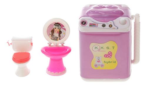 Imagen 1 de 6 de Juguete Mini Accesorios De Plástico De Muebles Para