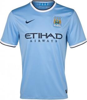 Camisa Nike Manchester City I 2013