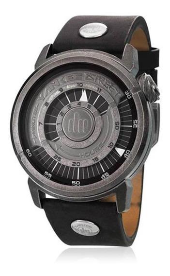 Relógio Masculino Yankee Street Black Angels Ys30265p Couro