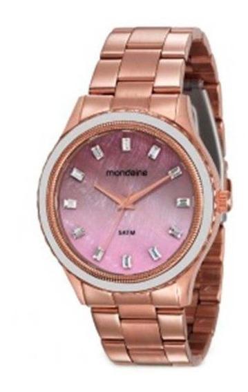 Relógio Mondaine Feminino Casual Rose 78747lpmvrs2