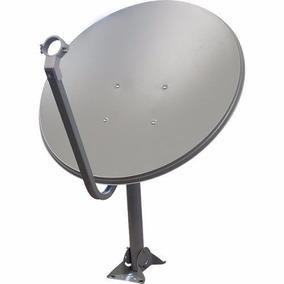 Antenas Ku 2 Unidades + Lnb Duplos + 40 Metros Cabo