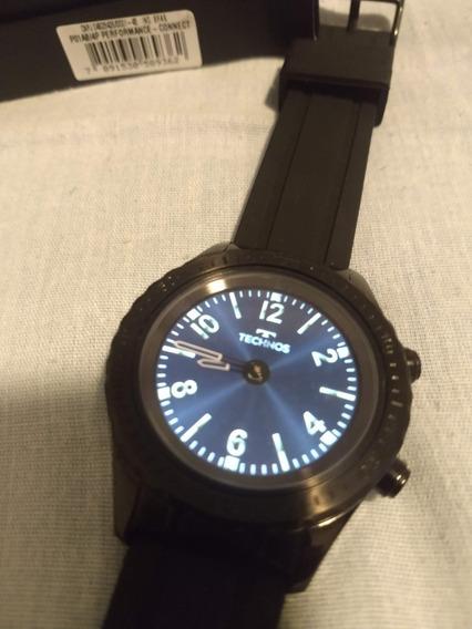 Relógio Technos Connect Duo Preto Masculino