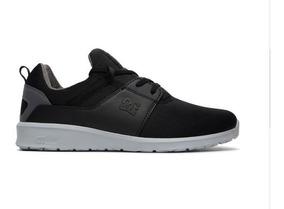 Tenis Dc Shoes Heathrow Black/armor Original Frete Gratis
