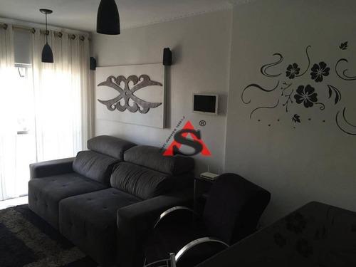 Apartamento Com 3 Dormitórios À Venda, 59 M² Por R$ 420.000,00 - Parque Da Mooca - São Paulo/sp - Ap43679