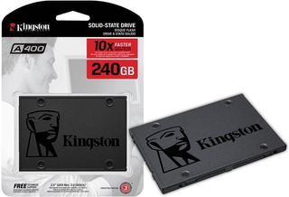 Ssd 240 Gb Kingston A400 Sata Pc Notebooks - La Plata