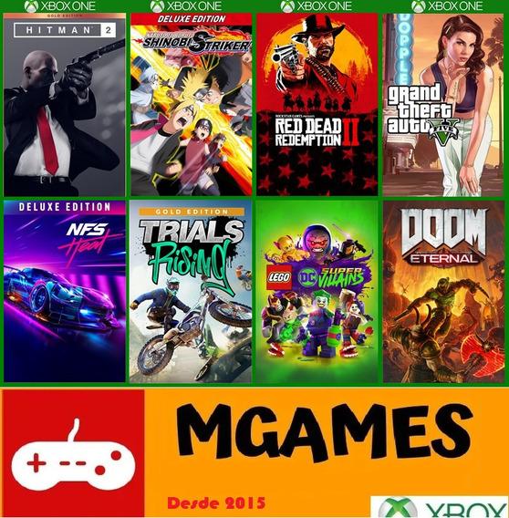 Pacote 03 Jogos Xbox One Digital