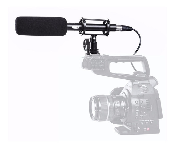 Microfono De Mano Profesional P/ Video Dslr Boya By-pvm1000