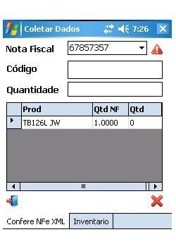 App Conferência De Nota Fiscal E Xml Coletor De Dados