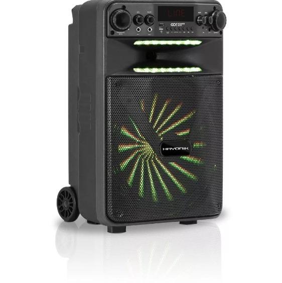 Caixa Multiuso Portátil Bluetooth 100w Go Power 200 Hayonik