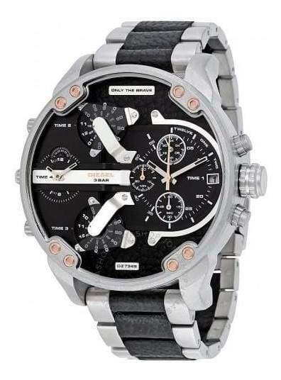 Relógio Diesel Dz 7349 Com 2 Anos De Garantia.