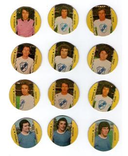 Figuritas Temperley Futbol 1977 Completo