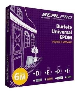 Burletes Para Puertas Y Ventanas Universal Tp.e. Col.marron