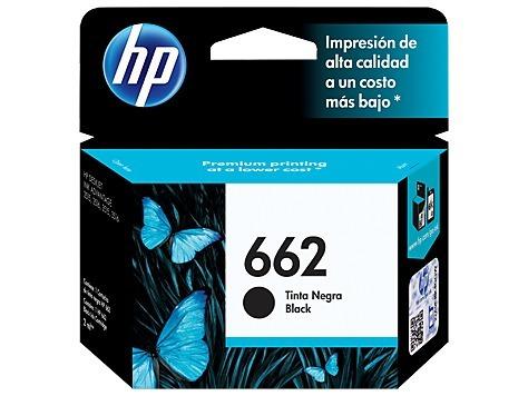 Cartucho Hp 662 Negro Cz103al