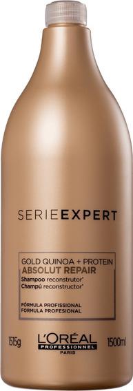 Shampoo Absolut Repair Gold Quinoa + Protein 1,5l Lóreal