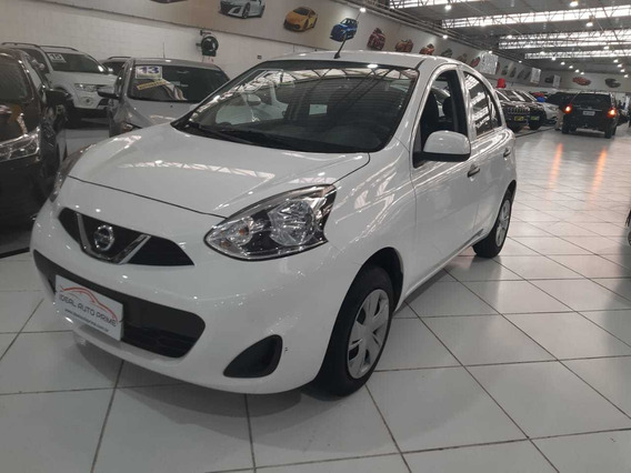 Nissan March S 1.0 2019 Completo Lindo