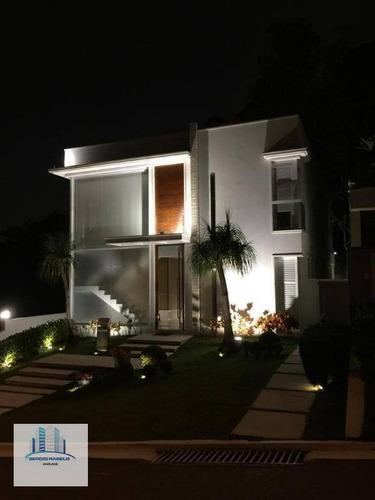 Imagem 1 de 30 de Casa Com 4 Dormitórios À Venda, 456 M² Por R$ 6.000.000,00 - Villa Solaia ( Alphaville) - Barueri/sp - Ca0138