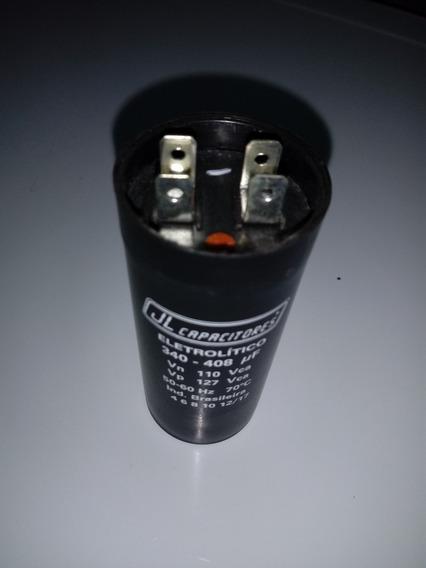 Capacitor Eletrolitico 340 -408 Uf Ou Bobina De Aranque