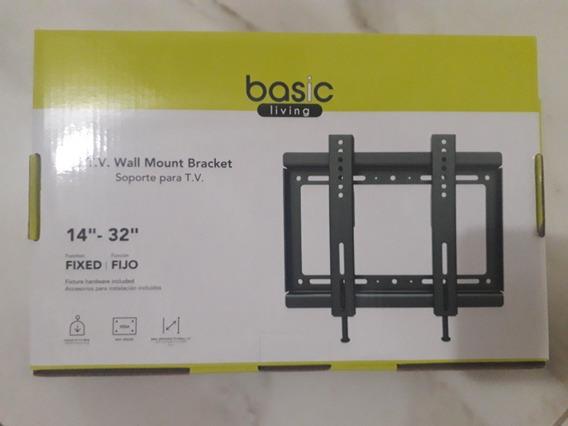 Base Para Tv De 14 A 32 Pulgadas Marca Basic