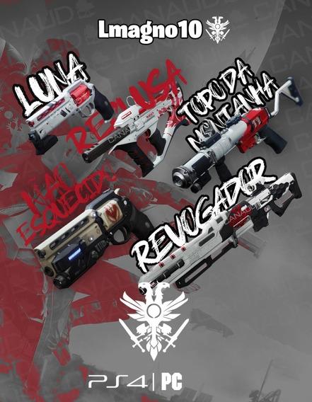Destiny 2 - Revogador / Topo Da Montanha E Reclusa