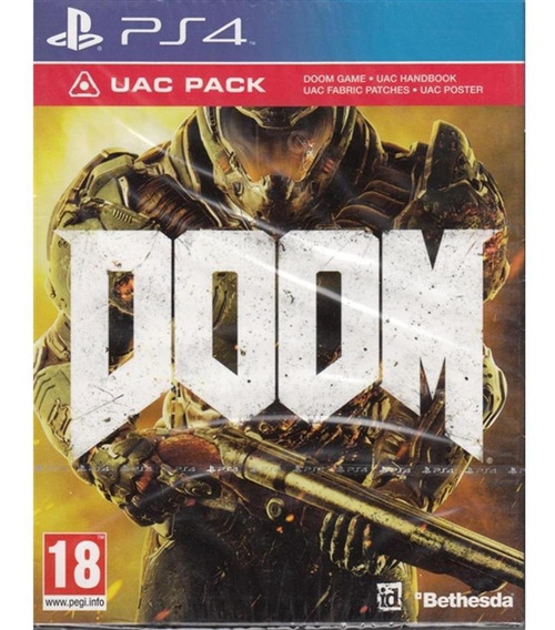 Doom Uac Pack - Ps4