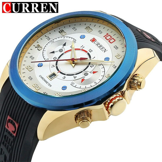 Relógio Curren Speed Race 100 Velocímetro