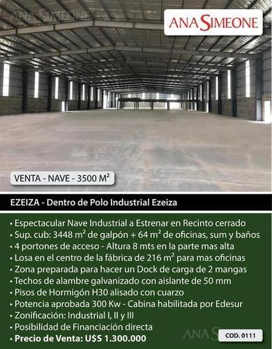 Imagen 1 de 9 de Nave Industrial - Ezeiza