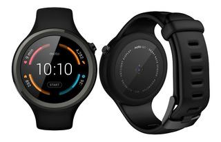Relógio Smartwatch Moto 360 Sport Preto Novo Eua 12x S/juro