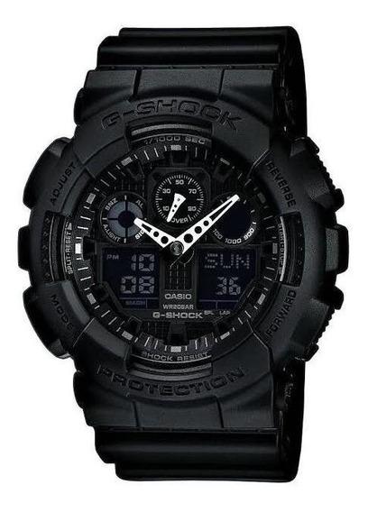 Relógio Casio Gshock Ga100 Preto Esporte P/entrega