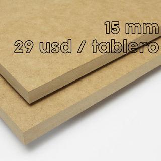 Tableros Mdf 15mm 120x240 Cm Planchas Pedazos 3-6-9-12-18 Mm
